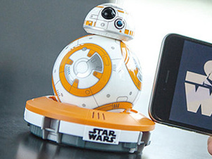 【必读】原力觉醒卖萌神器 星战BB-8机器人评测