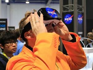 【现场】把科普搬进CES NASA展台主打航天元素