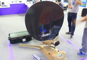 朗威视讯带来便携卫星站