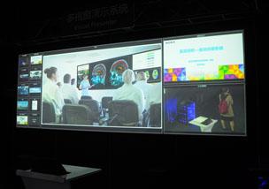 InfoComm 2015:索尼多视窗显示屏