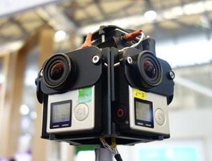 多镜头拼接拍摄解决方案