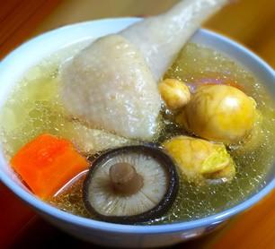 香菇鸡嫲汤