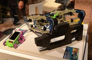 高通展台 看看有趣的玩具模型是什么