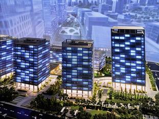 上海丰树集团企业展厅