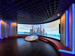 上海地产集团展厅