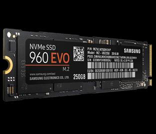三星 960 EVO NVMe M.2(250GB)