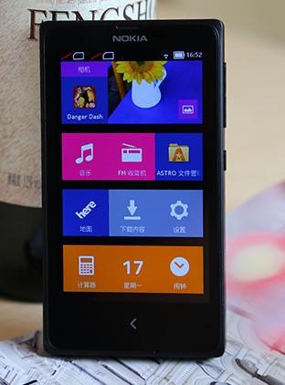 诺记首款安卓机诺基亚X评测
