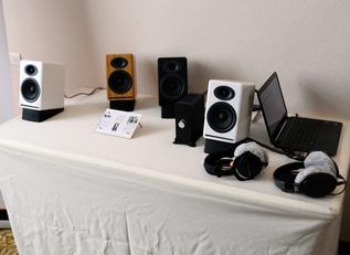 小巧好声 声擎展会带来新品音箱HD3