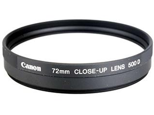 佳能72mm近射镜片 500D