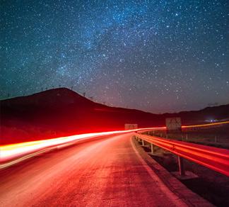 《七里坝的夜空》