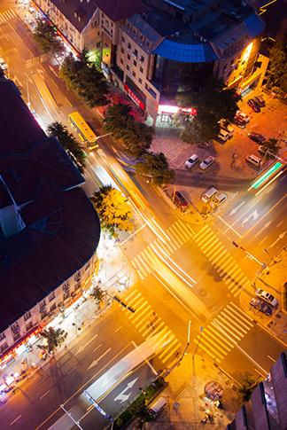 记录城市夜景