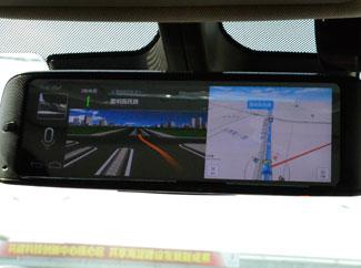 保速捷UZ99智能后视镜导航功能