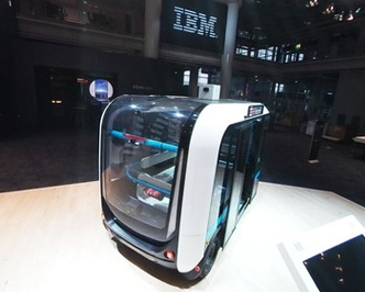"""IBM与宝马带你在CeBIT上""""浪"""""""