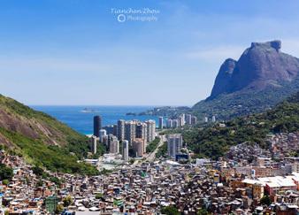 里约最大的贫民窟 Rocinha
