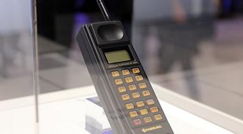 MWC2016三星展台 讲述三星手机发展史