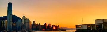 香港维多利亚港美景