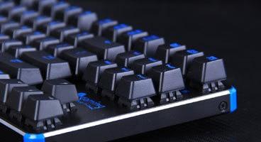 精灵雷神之锤80%青轴机械键盘