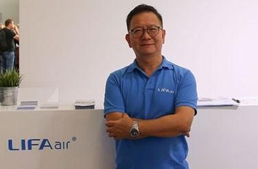 <b>【专访】</b> LIFAair亚太区CEO沈昌棠