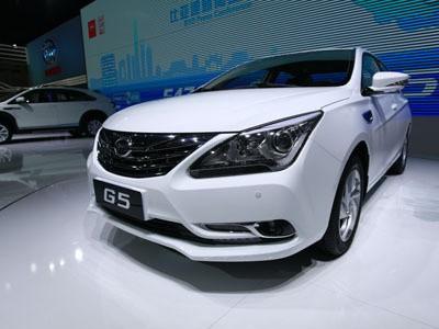 比亚迪G5车展正式发布