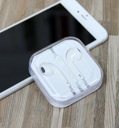 9块9的iPhone耳机听着辣耳朵