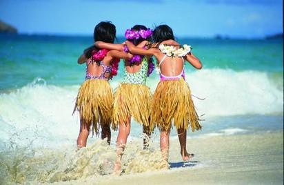 夏威夷草裙