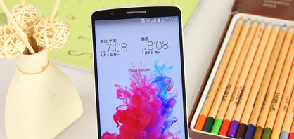 2.5K屏骁龙801处理器 韩版LG G3图赏
