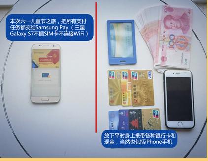 Samsung Pay三星智付 出门不带钱包、银行卡和现金