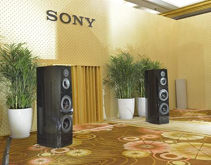 不止有随身 索尼上海展也带来了大音箱