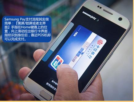 Samsung Pay首先进行指纹识别 25s内进行支付即可