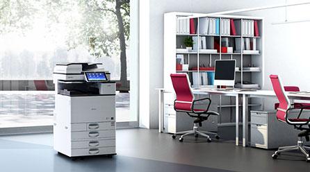彩色办公新飞跃 理光发布6款彩色复印机
