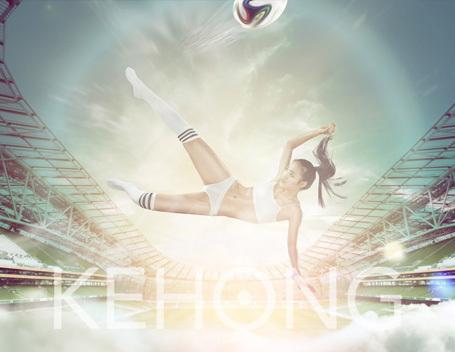 女神的世界杯-KEHONG商业视觉作品