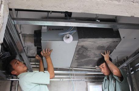 与空调相得益彰 新风系统安装需