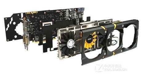 豪华用料 微星GTX780闪电拆解面面观