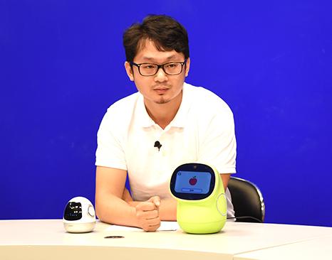 ROOBO智能机器人产品副总裁陈忆
