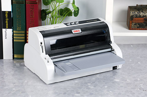 快递单打印小能手 OKI ML5920F针打图赏