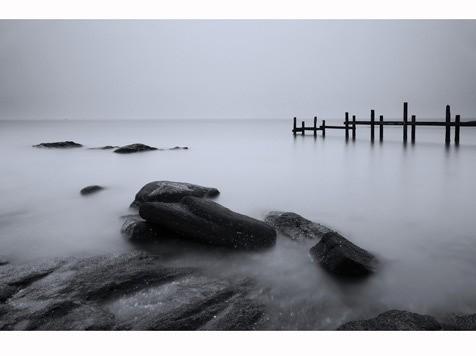10月月赛一等奖《静静的海》组图 作者:无痕剑