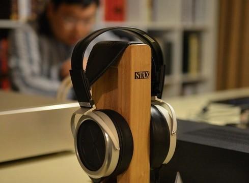 2013广州音响展 STAX 009耳机亮相展会