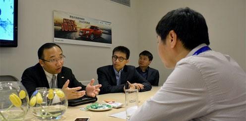 ZOL总编专访雪佛兰营销部长吴冰