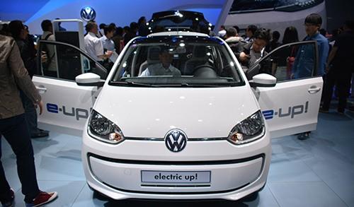 一辆萌货 大众推出纯电动小车e up!