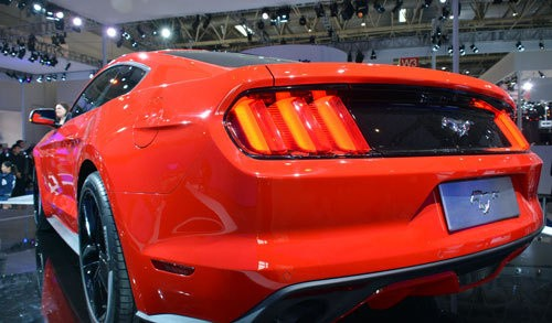 庆Mustang50周年 福特野马亮相