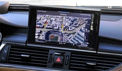 预测停车位 奥迪城市智能辅助系统