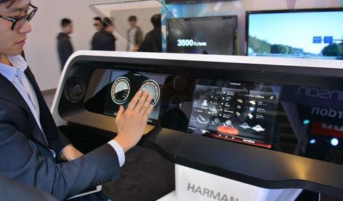 完美视听 车展哈曼展台诠释智能新境界