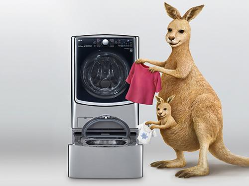 LG双擎Twin Wash洗衣机图赏