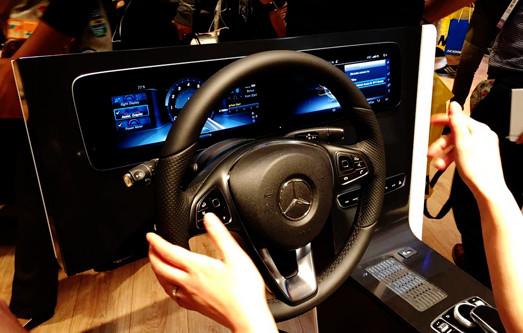 主打电动新能源 汽车科技引领CES展会