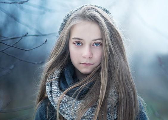 赏来自Magda Berny的一组女孩人像摄影作品