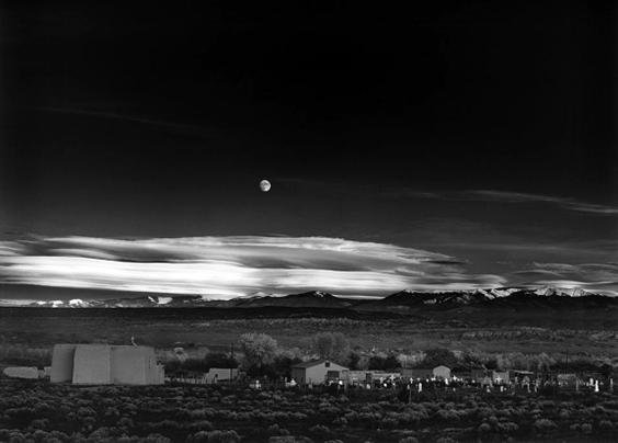 安塞尔·亚当斯风光摄影