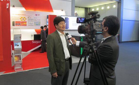 中科院研究员唐志敏接受CCTV采访