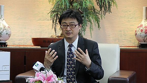 佳能中国商务影像方案部高级总经理江原大成