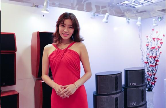 广州展的那些天 在惠威展房错过的模特