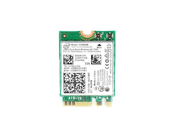 Intel 3165NGW蓝牙无线二合一网卡
